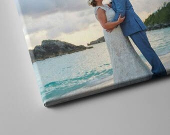 Your own photo to canvas, wedding picture canvas, custom wall art, custom canvas, photo gift, photo art, photo print, personalized gift
