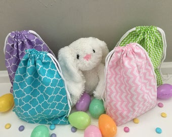 Reusable Easter Gift Bags / Treat Bags (Set of 4)