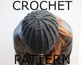 Crochet Beanie Pattern, Crochet Hat Pattern, Crochet Patterns, Hat Pattern, Gift for Her, Easy Beanie Pattern, Touque Pattern