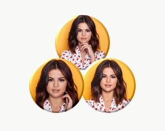 SELENA GOMEZ Buttons