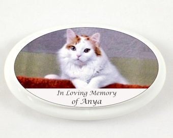 Mini Cremation Urn for Cat Ashes - Mini Urn Pets - Urn Pet Ashes - Mini Urn for Cat Ashes - In Loving Memory