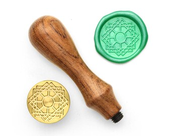 Mandalas Pattern - 61 - Design OD Wax Seal Stamp (DODWS0373)