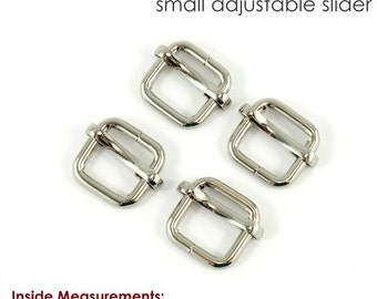 Strap Slider, Adjustable Sliders, Adjustable Purse Sliders, Strap Adjustable Hardware, Bag Strap hardware, Pack of 4