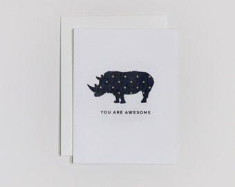 You Are Awesome - Card