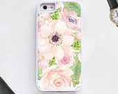 Cute girly floral pink pattern vintage Cell Phone Case for iPhone & Android / TPU Protective Case iPhone 6 iPhone 5 Galaxy s4 s5 Note4 Note5