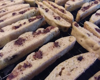 Homemade Chocolate Chip Biscotti - 24 Biscotti