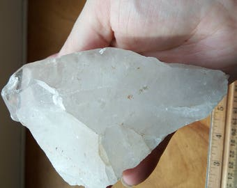 14 oz. Clear Quartz Crystal