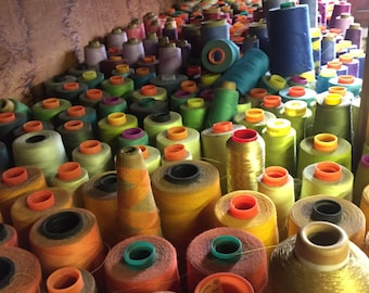 Assorted Thread Spools