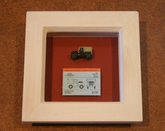 framed Land Rover Series One