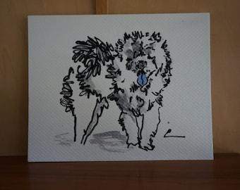 Chow Chow, Chow Chow art, Chow, Chow Chow dog, Chow art, Chow Chow dog, Chow painting, Chow dog, Chow illustration, Chow artwork, Chow decor