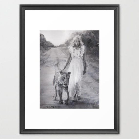 By My Side - Framed Paper Print