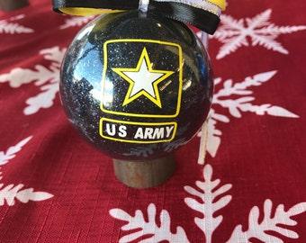 Army Ornament, us army ornament, military ornament, army gift, army support, army family, US Army gift, army mom, army wife