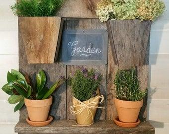Planter, Plant Holder, Plants, Garden, Gardening, Rustic Planter, Outside Pot, Vase, Outside Planter, Inside Planter, Garden Planter, Herbs