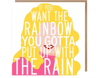 Dolly Parton Card • Dolly Parton Birthday Card • Dolly Greetings Card • Dolly Parton Quote Card • Best Friend • Card for her