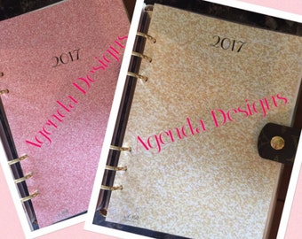 MM Pink Glitter Month on 2 Pages & Notes