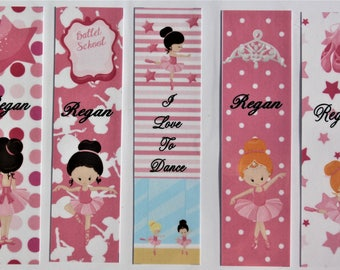 I Love To Dance Book Marks
