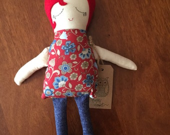 Handmade Valentine Doll