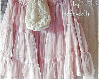French shabby children tulle skirt, TuTu costume skirt
