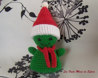 Sapinou, crochet Christmas tree