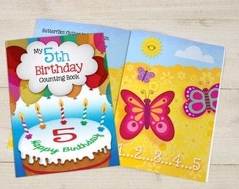 My 5th Birthday Counting Book - Softback