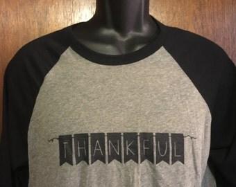 Thankful Baseball Style Shirts