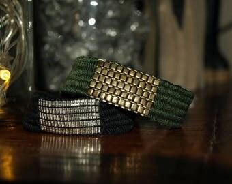Bracelet wire and Miyuki