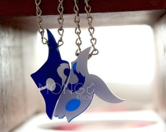 Kindred The Eternal Hunters necklace from League of Legends GIFT FOR GAMERS