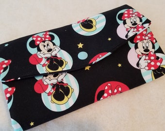 Tri-Fold Wallet Minnie Mouse