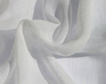Butter Muslin - White 100% Cotton