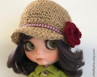 HAT for Blythe doll, sombrero para muñeca, cappello per bambola