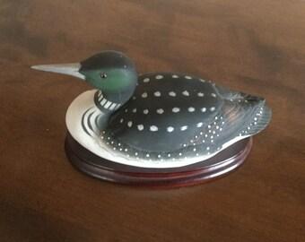 """Porceline """"Common Loon"""" #6736"""