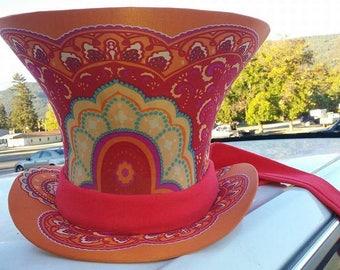 Custom Handmade MAD Hatter Top Hat