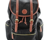 Hemp Black Backpack
