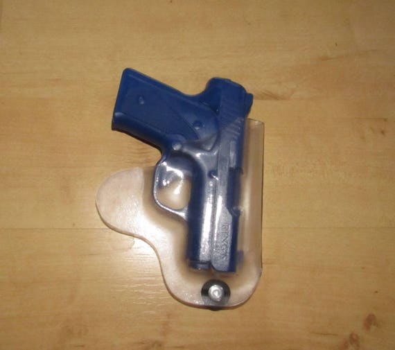 Holster Kimber Solo, CLEAR holster, Pocket Holster, clear small pistol holster, Concealed Carry, EDC, IWB