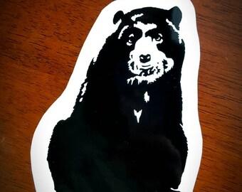 Vinyl Decal - Spectacled Bear