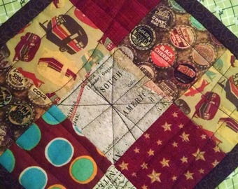 Quilted Camper Snack Mat