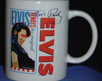 2 Elvis, Always the Original 10oz Ceramic Mugs - NIB