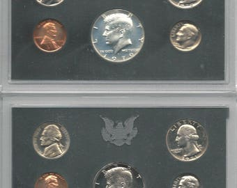 UNITED STATES 1970-1979 Sealed Proof Sets (SO)
