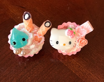 Decoden Pin Brooches