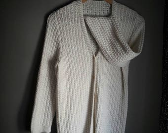 Cardigan cloud / cardigan / handmade / buy Cardigan / woman point