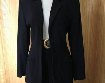 DKNY 4 Button Riding Jacket/Blazer
