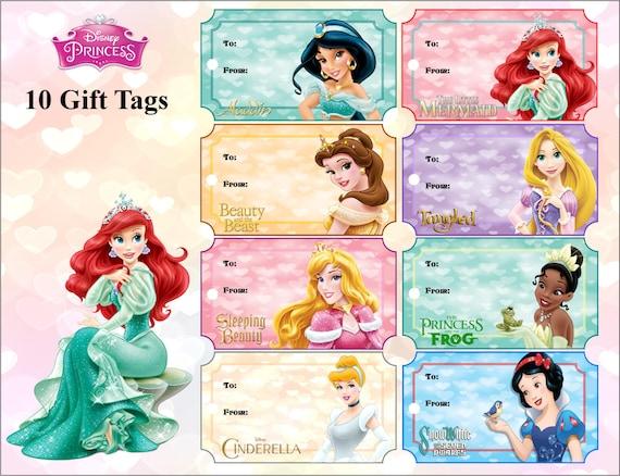 Disney Princess Gift Tags Disney Printables Princess