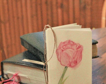 Little Thoughts Journal/Notebook/On the go Notes/Scripture Journal/Tulip Journal/Plant Diary/My First Diary
