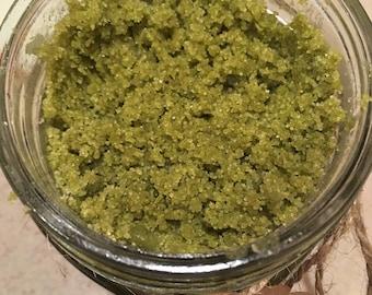 Organic Matcha Shea Sugar Scrub