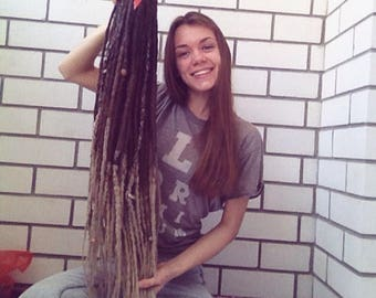 One meter long synthetic dreads
