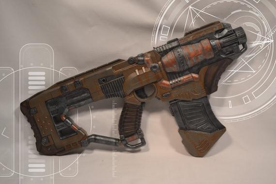 Steampunk/ Cyberpunk/ Cosplay Desolator Nerf Gun on Etsy