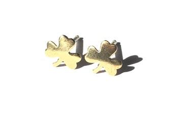 Lucky Shamrock stud earrings