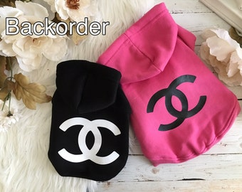 Backorder: Dog clothes, puppy clothes, dog sweater, CC Hoodie