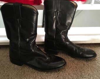 7.5 Justin Cowboy Boots