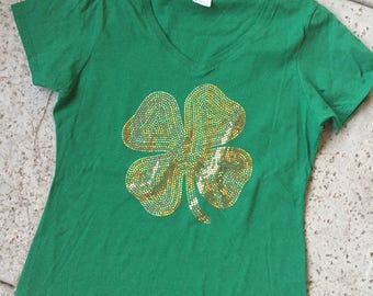 St Patrick's Day Shamrock Tee